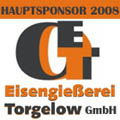 Hauptsponsor 2008 ist die Eisengießerei Torgelow