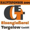 Hauptsponsor 2009 ist die Eisengießerei Torgelow